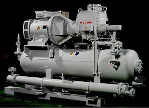 Products: MYCOM: Standard units: Screw compressor units - Mayekawa