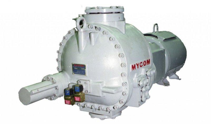 Products: MYCOM: Compressors: Single Stage Screw